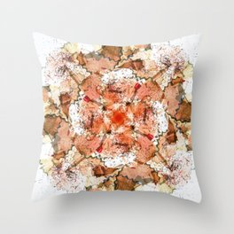 kaleidoscope - Pencil Sharpenings Throw Pillow