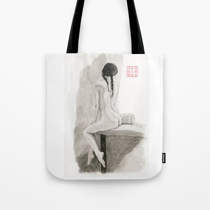 An Artist by the Window Tote Bag