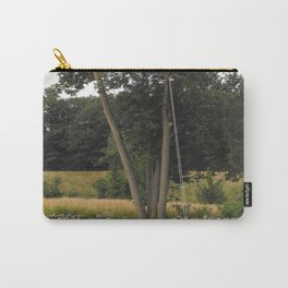 Optical Illusion, Tree-swing Carry-All Pouch