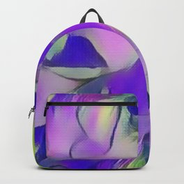 Heavenly Rose Petals Abstract - Purple Backpack