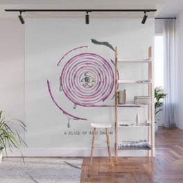 A Red Onion Wall Mural