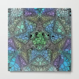 colossal glass mosaic Metal Print