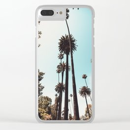 Beverly Hills Palm Trees Los Angeles California Clear iPhone Case