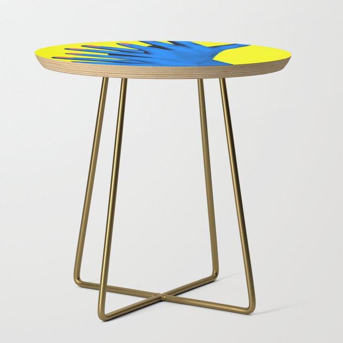 Woood Sidetable Job.Hand Job Side Table By Wankerandwanker