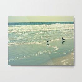 Glistening Sea Metal Print