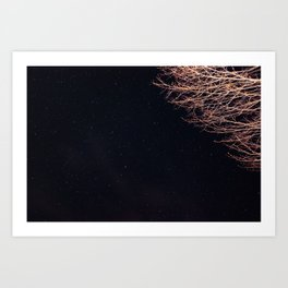 The stars kept me up thinking of you. Art Print