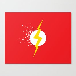 Square Heroes - Flash Canvas Print