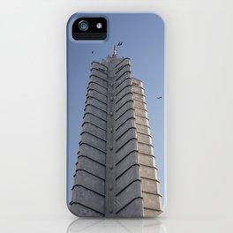 The Jose Marti Memorial, in La Havana, Cuba. iPhone Case