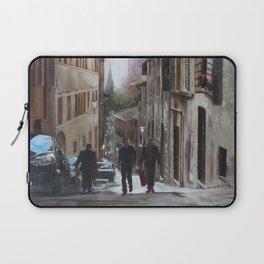 Sun Kissed Streets of Siena Laptop Sleeve