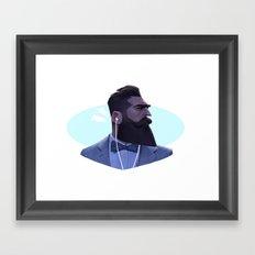 Manly Man Framed Art Print