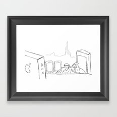 These aren't the droids you're looking for Framed Art Print