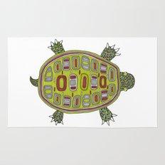 Tiled turtle Rug