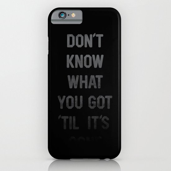 Gone iPhone & iPod Case