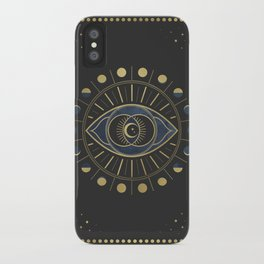 The Third Eye or The Sixth Chakra iPhone Case