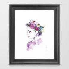 Like a bird Framed Art Print