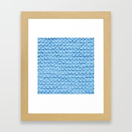 Βlue Warmth Framed Art Print