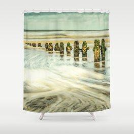 Wave Breaks Shower Curtain