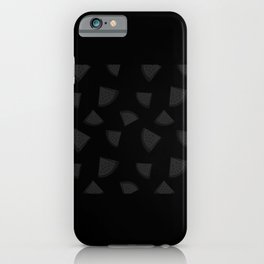 Discolored Watermelon Pieces iPhone Case