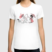 okami T-shirts featuring Painting with Okami by Miski