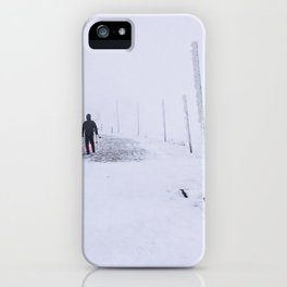 Snow 1.6 iPhone Case