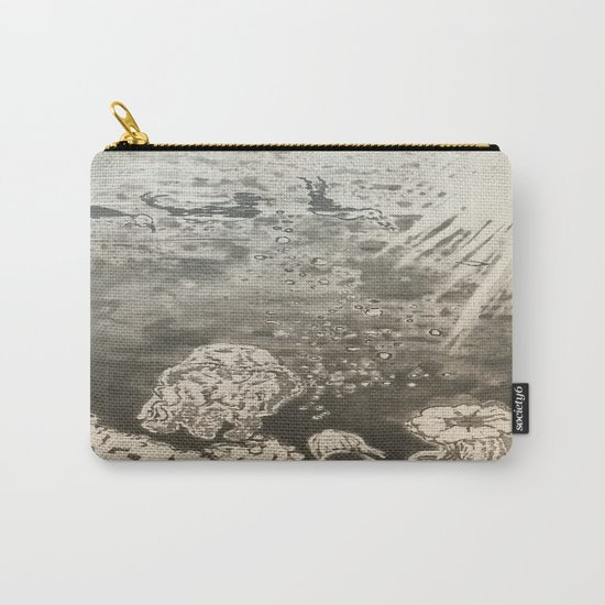 MoonSea EcoSystem Black and White Carry-All Pouch