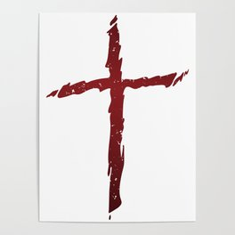 Rugged Cross Poster