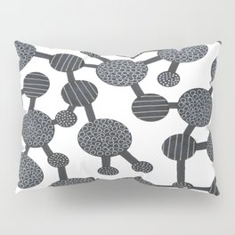 Molecules Pillow Sham