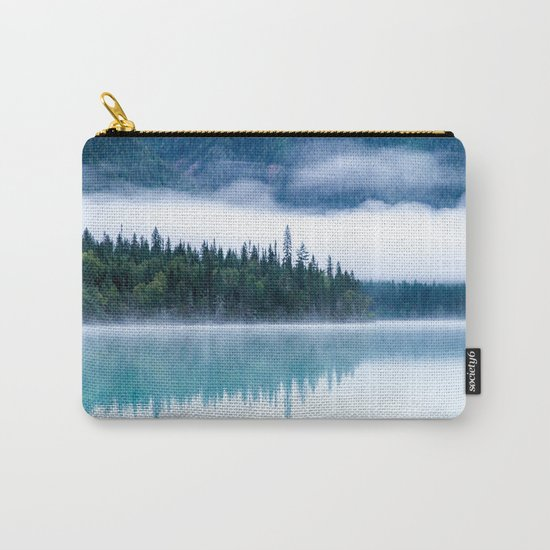 Blue nature #reflection Carry-All Pouch