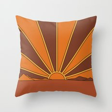 Sun Dreamer Throw Pillow