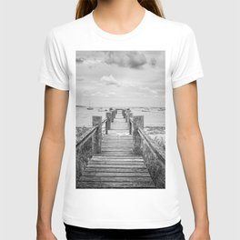 Old Dock Hyannis Port Cape Cod Ma T-shirt