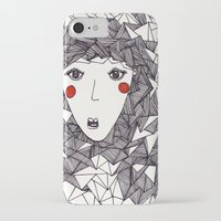 the who iPhone & iPod Cases featuring who by Eliza L