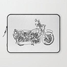 Vintage Bike Laptop Sleeve