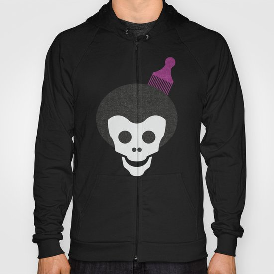 Skull with Fro. Hoody