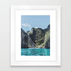 Filipino Island Framed Art Print