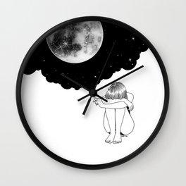3 Minute Galaxy Wall Clock