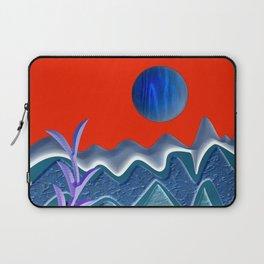 Mountain illustration Laptop Sleeve