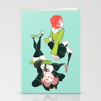 dangan ronpa Stationery Cards featuring technologic by Cori Walters