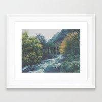 explore Framed Art Prints featuring Explore by Hannah Kemp