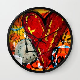 Time for Love Wall Clock