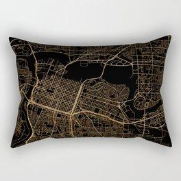 Sacramento map, California Rectangular Pillow