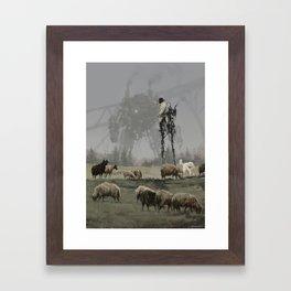 1920 - shepherd Framed Art Print