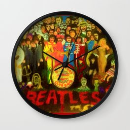 SGT PEPPER Wall Clock
