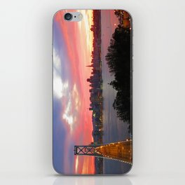 Electric Sky iPhone Skin
