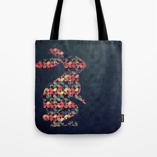 The Pattern Rabbit Tote Bag