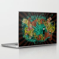 devil Laptop & iPad Skins featuring Party Devil by ADIDA FALLEN ANGEL