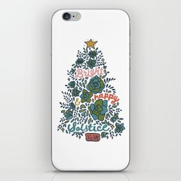 Bright and Happy Solstice iPhone Skin