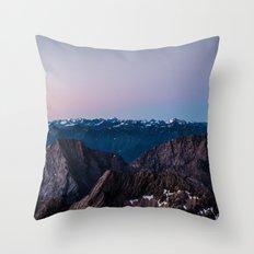 Taking the Long Way Around Throw Pillow