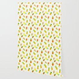 Pineapple Pura Vida Wallpaper