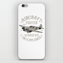 P40 Aircraft Fighter iPhone Skin