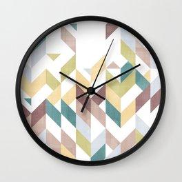 Shevron 1 Wall Clock